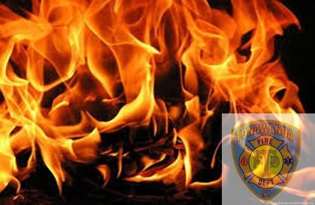 City of Tonawanda Working Fire