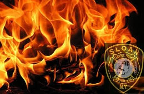 Sloan 2 Alarm Fire