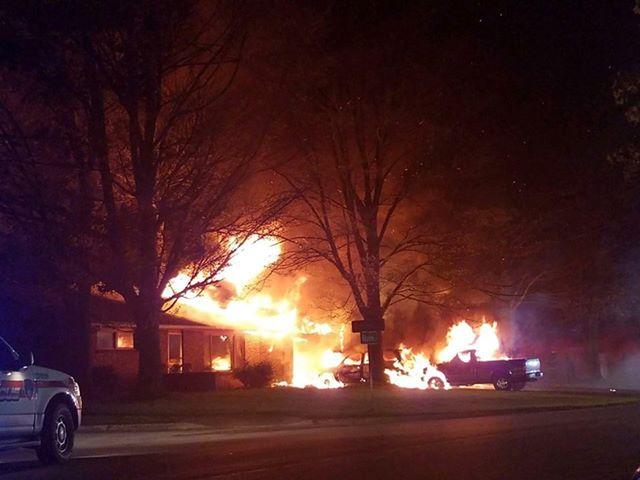 Akron 2 Alarm Fire